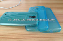 New Soft TPU Case Cover For Sumsung Galaxy S4 With Anti Dust Plug