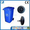 Qingdao wholesales garbage can wheels CE certificate 8 inch solid wheels