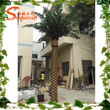Nuevo diseño del fabricante de China artificial tree decoración exterior palmera artificial fake palmera venta