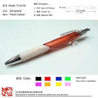 shanghai wholesale marke cheap pens plastic manufacturer tc6135