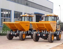 China 5ton DP50/FCY50 4X4 mini dumper truck for transporting