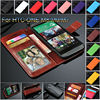 for htc one m7 wallet case with card slot and holder ID book wallet leather cover, for htc one m7 cover