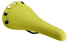 Popular PVC bicycle saddle, bike seat post for road bike mountain bicycle