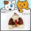 ICTI plush Strong big mouth monkey for Kids