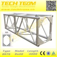 Galvanized Steel Roof Aluminum Truss For Hanging Speaker Length=4000mm BD76-RS40