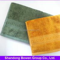 The Greatwall viscose dobby 100 bamboo fiber face towel