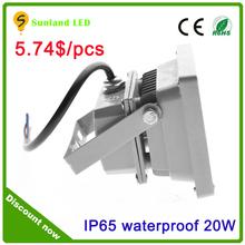 Led Flood Outdoor Floodlight 10W 20W 30W 50W 70W 100W PIR LED Flood light with motion sensor Spotlight RGB waterproof AC85-265V
