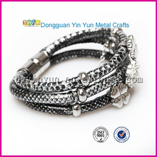 Snake leather bracelet brand jewelry bracelet sunshine bracelet for girls