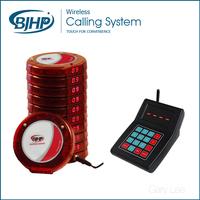 long life waterproof restaurant wireless table order system restaurant table indicator waiter caller