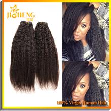 Xuchang JS Yaki Straight Dubai Beauty 100 Human Hair Extensions In Stock