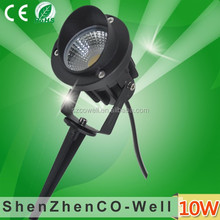 cob led garden light 10W AC220V/DC12V Green/yellow/blue/red