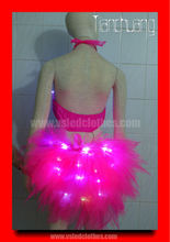 Performancer sexy vestido / vestido de luz led / evento iluminan vestido
