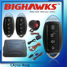 car alarm system one way CA702-8129 BIGHAWKS remote control door lock auto security and keless entry system