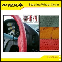 Automotive Colored DIY Stitching Leather Car Wheel Cover