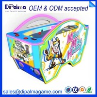 Ice hockey coin operated redemption game machines for kids
