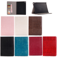 Hot Selling Crocodile PU Leather Stand Case for iPad Mini 4, For iPad Mini 4 Stand Case