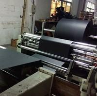Black Color Paper for Label/Box Solid Cardboard Black Flat Paper