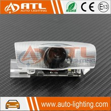 Exquisite design welcome light car led 4d logo emblem light
