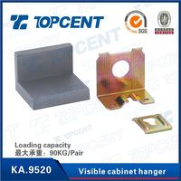 KA.9520 Plastic and iron file visible cabinet hanger