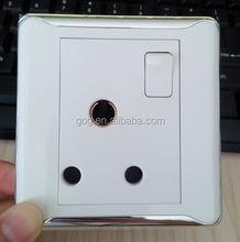 English Socket 1 Gang+15A BS Power Socket 15Amp