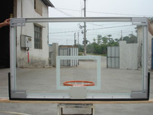 all aluminum frame basketball backboards, exported to USA