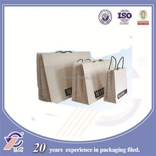 2015 hot sale yiwu paper bags, various sizes of paper shopping /gift paper bags, free samples are available