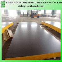 combi core WBP glue black film faced plywood with company brand name