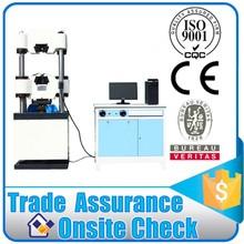 Hydraulically fastener tensile strength testing machine