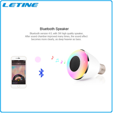 Timer+Group+Music Android IOS RGBW wifi bluetooth smart led bulb lighting led lights bulb with longspan time and safty light