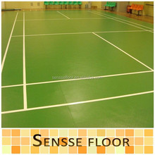 PVC Sports Plastic Floors For Sports Fields/Sports Flooring Used