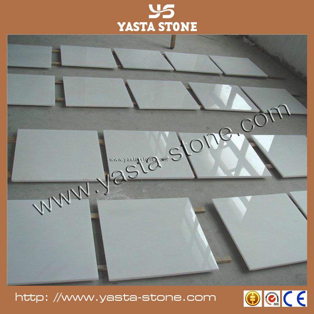 Low price 12x12 floor tile white thassos marble flooring for 12x12 white floor tile