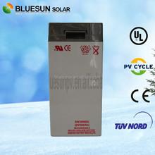 2V 500AH deep cycle good price on solar system solar cell battery