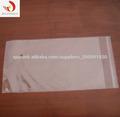 bolsa de plástico transparente