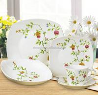 fine ceramic dinner set, porcelain dinnerware