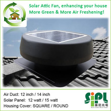 Wholesale China goods! 14 inch 15 watt Energy Saving Solar Roof Ventilator Fan