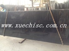 popular absolute black standard granite slab Chinese black granite