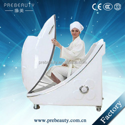 2015 Newest Beauty salon uesd!!! Sitting infrared spa capsule/Far infrared ozone steam spa capsule