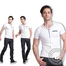160 grams hot sale silk/cotton fashion black 100% hemp tshirts