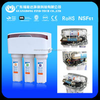 China 6 stage water filter purifier parts with uv with dust cover