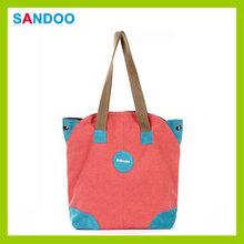 China new product elegance adies bag, popular simple blank tote bag