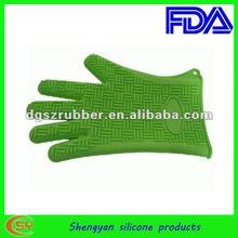 2014new design high temperature burning oven glove