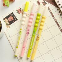 Direct stationery manufacturer office kawaii pen 0.5mm pod designs black luxury ink gel pens