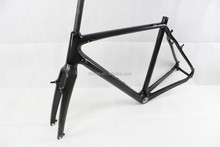 2015 New Carbon Cyclocross Frame With V brake BSA, Inner Cable Route Cyclocross Frame Carbon 3K/UD Matt/ Glossy finished