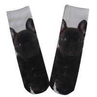 GSP-41 GS polyester cat design women tube sublimation socks with dog design