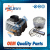 Motorcycle Cylinder kit for Jianshe Yamaha JYM150 High Quality Motorcycle Parts Motorcycle Engine Parts Block 57mm diameter