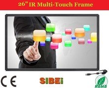 """(12.1-100inch) 26 inch multi point stand industrial touch panel,26"""" usb touch screen,multi touch kit"""
