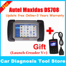 Free shipping Autel ds708 car diagnostic tool, super Autel diagnostic tool original maxidas ds708 with best price