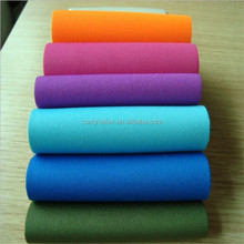 polyester fabric neoprene rubber/neoprene coated fabric