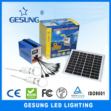 new product 6w solar system for home led solar power lighting