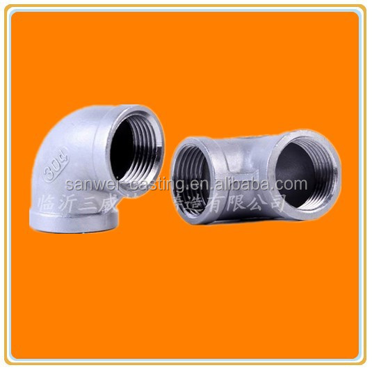 2 Inch Stainless Steel Coupling : Inch stainless steel pipe fittings for lbs with npt